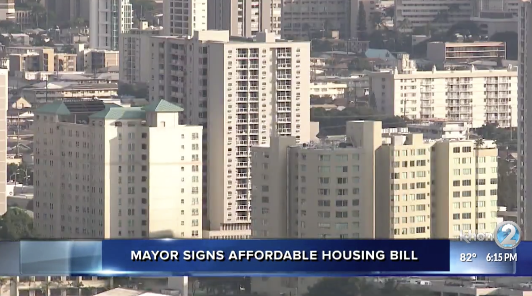 Mayor Signs Affordable Housing Bill into Law